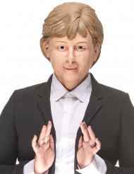 Image of Maschera umoristica in lattice di Angela per adulto