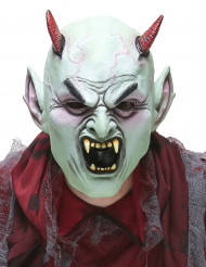 Maschera da diavolo inferocito adulto