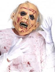 Maschera da vecchio cadaverico per adulto