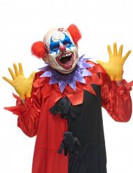 Maschera in lattice clown delle tenebre adulto