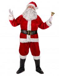 Costume completo Babbo Natale Lusso adulto