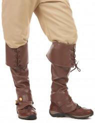 Copri stivali effetto pelle