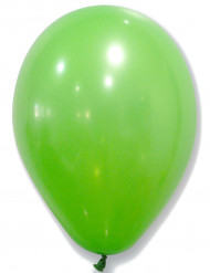 50 palloncini in lattice verde
