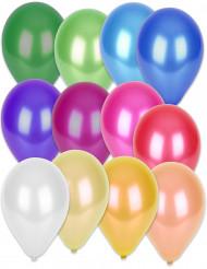 50 palloncini metallizzati multicolori