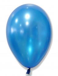 Confezione di 50 palloncini color blu metalizzati