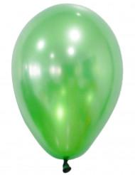 Confezione di 50 palloncini color verdi metalizzati
