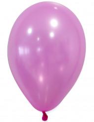 50 Palloncini rosa metallizzati