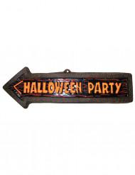 Decorazione murale Halloween: freccia Halloween Party