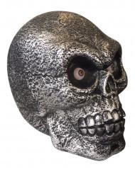 Decorazione Halloween: cranio gigante luminoso e sonoro