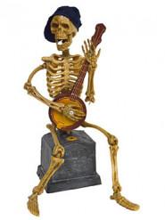 Decorazione di Halloween: scheletro articolato e sonoro
