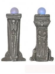 Decorazione di Halloween: pietra tombale luminosa