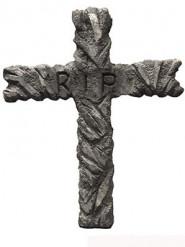 Croce decorativa RIP Halloween