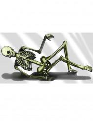 Decorazioni plastica scheletro divano Halloween