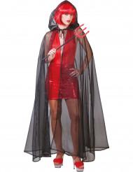 Mantello nero trasparente Halloween