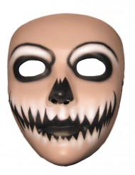 Maschera joker sorriso d'inferno adulta Halloween