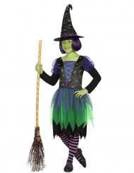 Costume strega lunare bambina Halloween