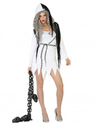 Costume sexy fantasma donna Halloween
