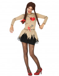 Costume bambola voodoo donna