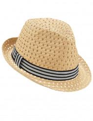 Cappello tipo borsalino traforato per adulto