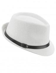 Cappello borsalino bianco adulto
