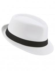 Cappello borsalino con fascia nera adulto