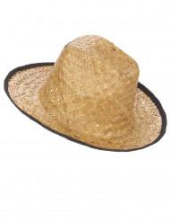 Cappello da cowboy in intrecciato