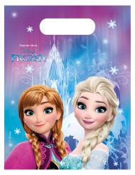 6 Sacchetti per caramelle Frozen-Il Regno di ghiaccio™