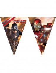 Ghirlanda di bandierine Captain America Civil War™