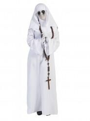 Costume da suora bianca donna