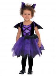 Costume pipistello viola per bambina