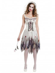 Costume da sposa insanguinata donna Halloween