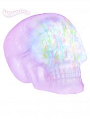 Decorazione cranio luminoso e sonoro