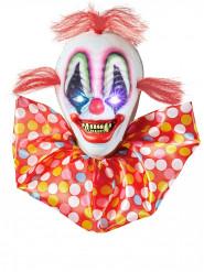 Decorazione luminosa clown spaventoso