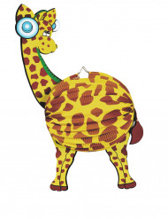 Lanterna di carta giraffa