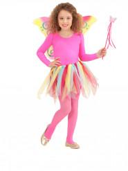 Kit principessa delle fate arcobalena bambina