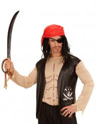 Maglia da pirata con accessori per adulto