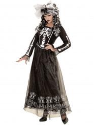 Costume da scheletro per donna