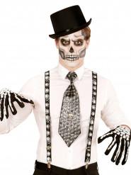 Bretelle tela di ragno adulto Halloween