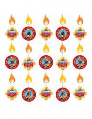6 Ghirlande verticali di Sam il Pompiere™