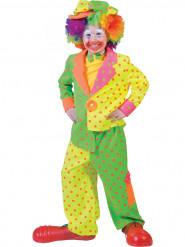 Costume clown a pois bambino