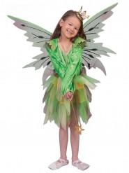 Costume elfo della foresta da bambina