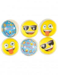 6 palle rimbalzanti Emoji™