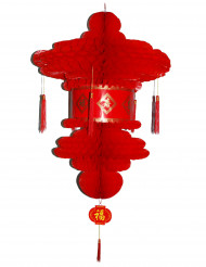 Lanterna cinese rossa 80 cm