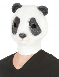 Maschera panda in lattice per adulto