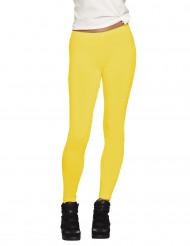 Legging giallo adulto