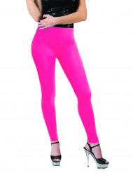 Legging rosa fluo adulto