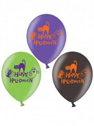 6 Palloncini Happy Halloween colorati