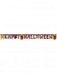 Ghirlanda Happy Halloween con piccoli mostri