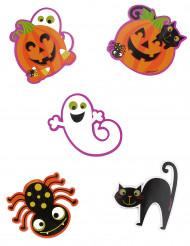 Confezione 10 coriandoli grandi di Halloween
