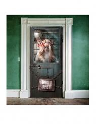 Decorazioni porta ospedale psichiatrico Halloween